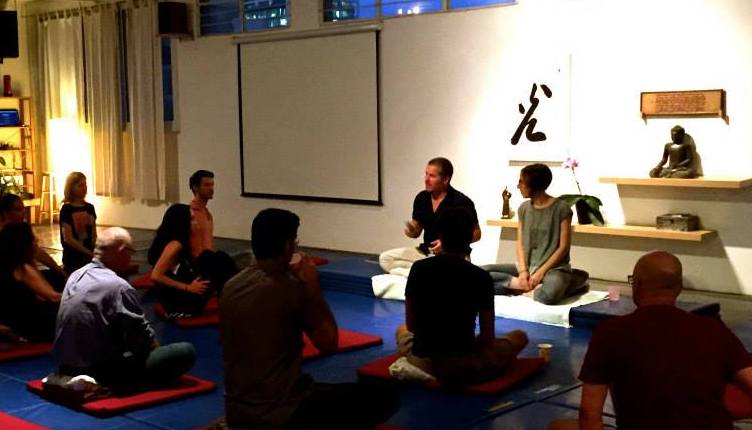 Open Dharma Evening, Miles Kessler, Keren Arbel, meditation