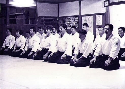 The famous Iwama Dojo, in Japan, helmed by Morihiro Saito Sensei.
