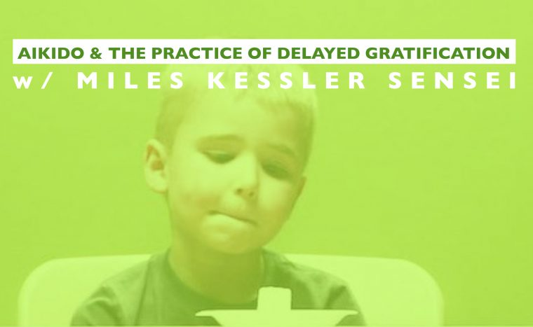 Aikido & The Practice Of Delayed Gratification