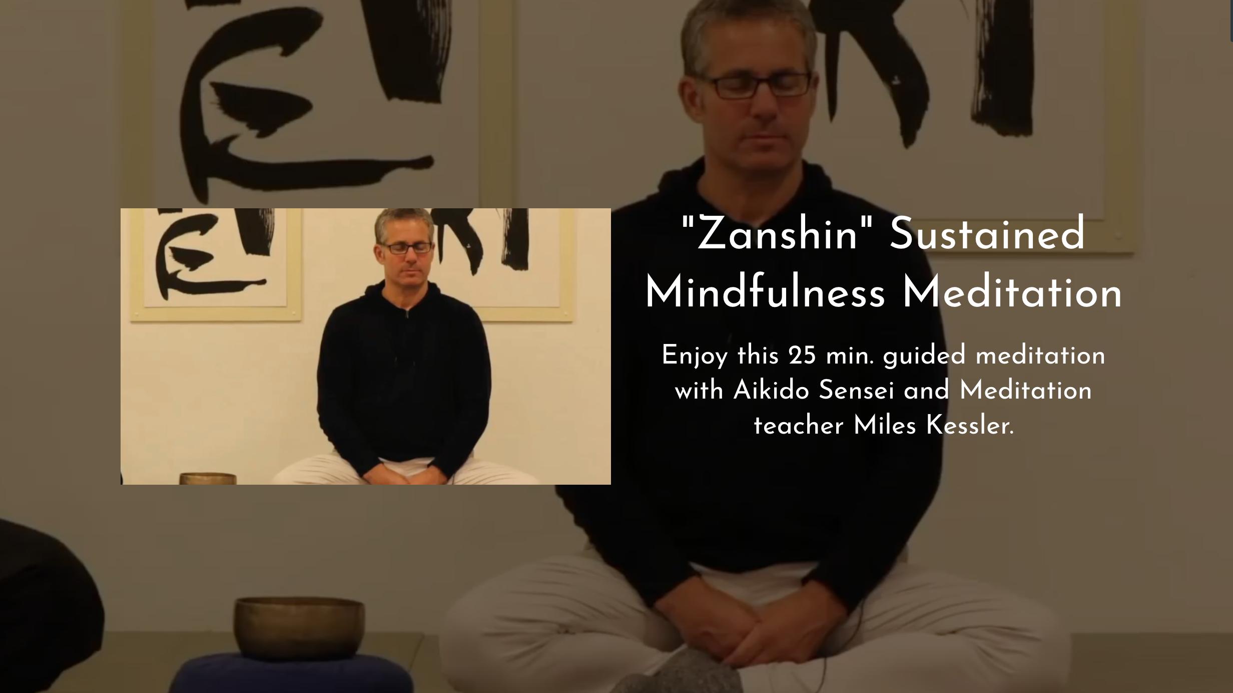 Guided Meditation w/ Miles Kessler