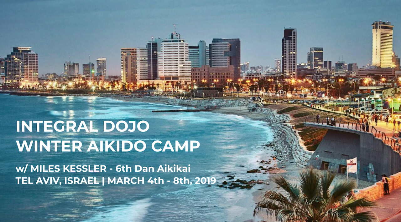 Winter Aikido Camp | Tel Aviv, Israel | March 4th - 8th, 2-19