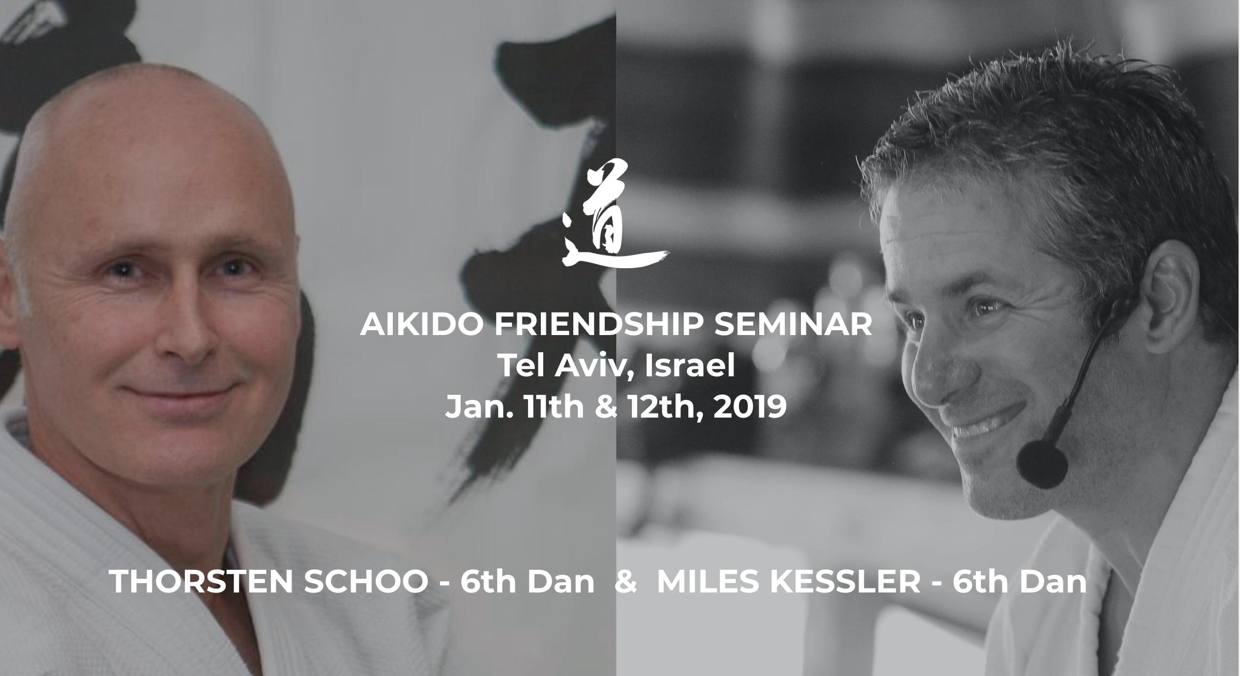 Friendship Seminar 2019 -Thorsten Schoo & Miles Kessler