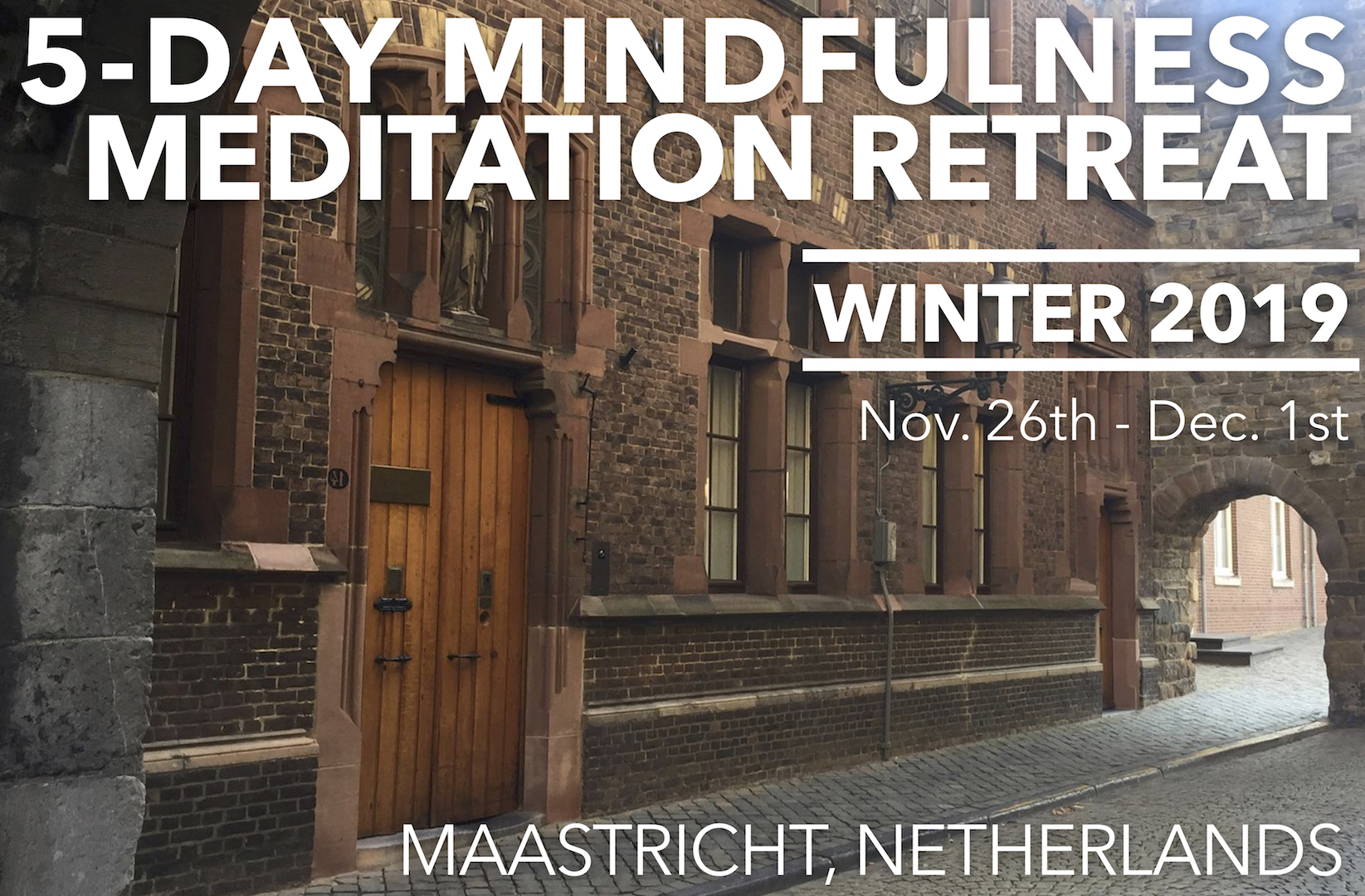 Mindfulness Meditation Retreat w/ Miles Kessler