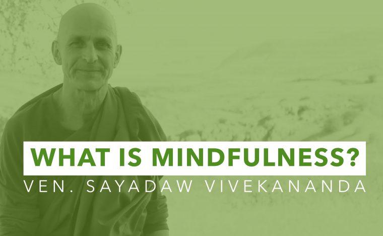 Ven. Sayadaw Vivekananda